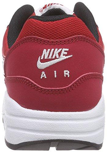 Nike Air Max 1 (Gs), Sneakers basses garçon Rouge - (Gym Red/White-Black)
