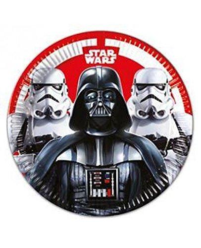 Disney- Star Wars Assiettes, 53875