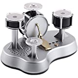 Mini Schlagzeug Set Finger Elektronisch Spielzeug Musik Touch Trommeln Jazz Schlagzeug Schreibtisch Kinder audlts