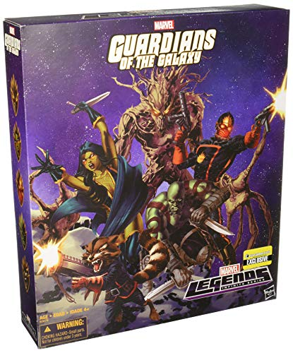 Guardians of the Galaxy Comic Edition Marvel Legends Action Figure Set - Exclusive Edition