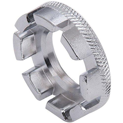 Romote Fahrrad-Rad Speichenschlüssel Universal-Mini-8-Way Speichennippel Key Felgen Schlüssel-Schlüssel-Reparatur-Werkzeug