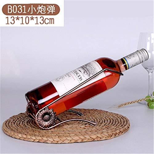 Europäische kreative Weinregal Dekoration Hause hohe Weinschrank Dekoration Wein Becherhalter kopfüber Weinregal Flaschenregal