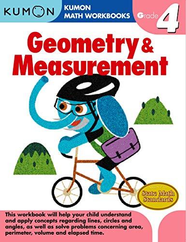 Geometry & Measurement, Grade 4 (Kumon Math Workbooks)