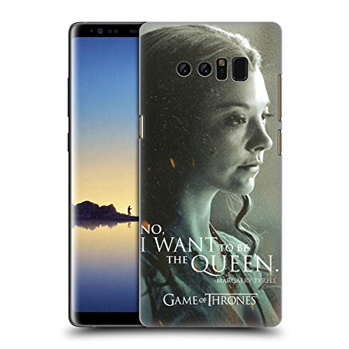 Offizielle HBO Game Of Thrones Margaery Tyrell Character Portraits Ruckseite Hülle für Samsung Galaxy Note8 / Note 8