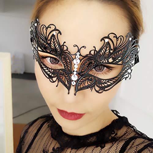 Venezianische Masquerade Ball Kleider - Lady of Luck Venezianischen Metall Masquerade