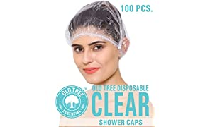 Old Tree Disposable Shower Cap (Pack Of 100)