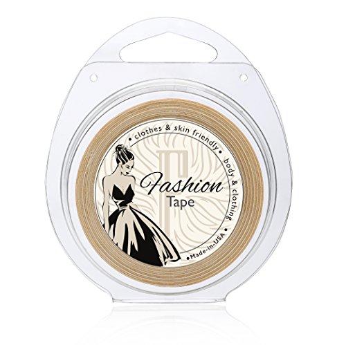 cf0a4400f9687a Fidentia Fashion Tape doppelseitiges Klebeband zum professionellen Fixieren  von Kleidung - Made in USA