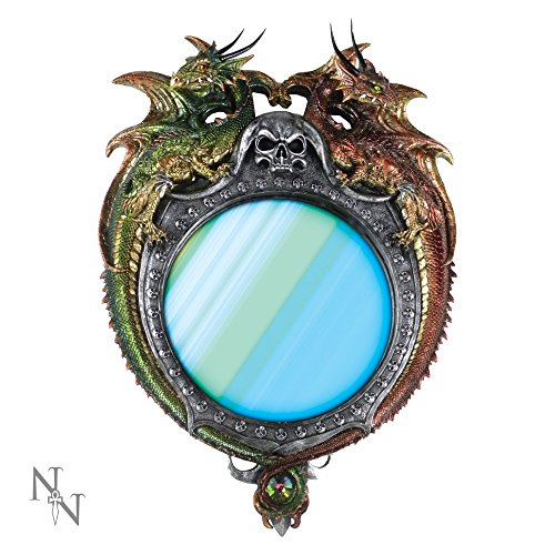 Nemesis Now-Specchio da parete di Dragon unità-64cm