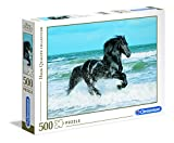 Clementoni 30175.1 -  Black Horse 500 teilig
