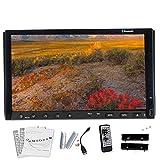 7 pollici touchscreen Bluetooth digitale In-dash lettore DVD Video Audio stereo di sostegno FM / SD / USB / Aux Input chiamate hands-free Potenza di uscita del telecomando