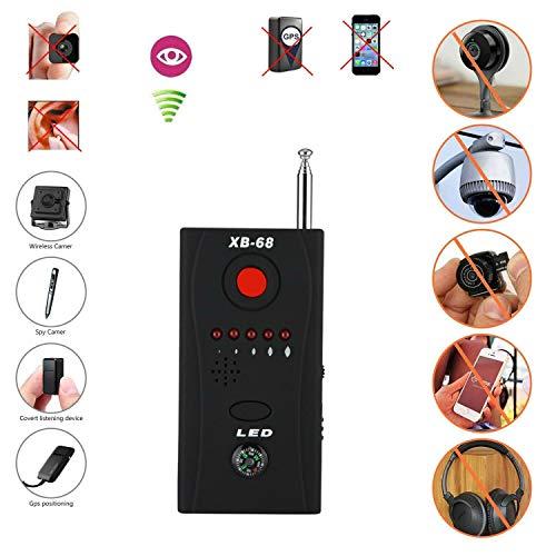 Detector Cámaras Ocultas Detector Señal rf Detector de Micros Tracer Buscador de Detectores de Cámaras Ocultos Anti-spy Detector de Errores de Cámara de RF Inalámbrico Tracer