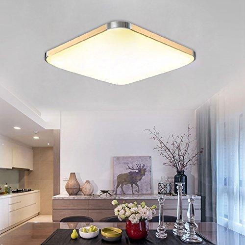 Hengda® 15w RUND 18W LED Deckenleuchte Bad 85V-265V Deckenlampe Designleuchte Wohnzimmer Küche 6000K-6500K weiß Badleuchte Warmweiß Warmweiß 2700-3200K Lampe (18W Warmweiß)