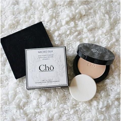Cho Micro Seta Anti-Aging finitura naturale polvere pressata Ultra Luce texture 12g M3per bianco o sacchetto bianco Skin).Spedizione gratuita.