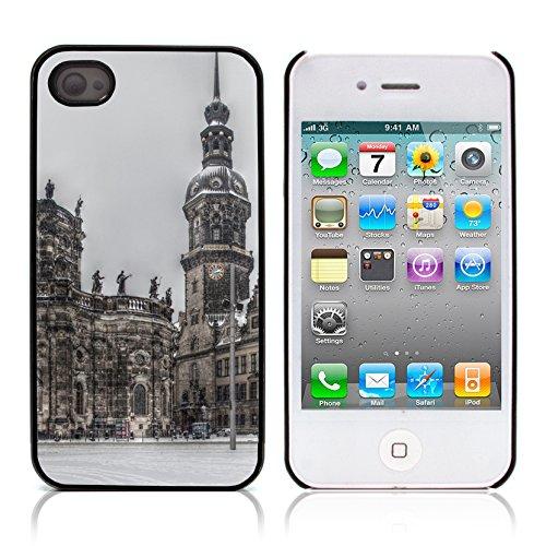 Graphic4You Bavaria Germany Postkarte Ansichtskarte Design Harte Hülle Case Tasche Schutzhülle für Apple iPhone 4 und 4S Design #1