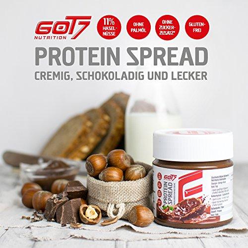 GOT7 Nutrition Protein Spread – Schokoladenaufstrich, 1er Pack (1 x 250 g) - 4