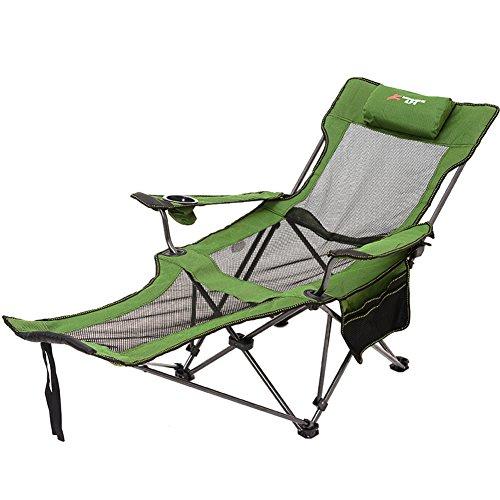Be&xn Outdoor-klappstuhl, Liegestühle Lounge Chair Portable Zurück loungesessel Strandstuhl Siesta Bett Stuhl-C W59xH88.5cm(23x35inch)
