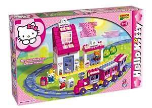 Androni - 8652 hk - Jeu de Construction - Le Train de Hello Kitty