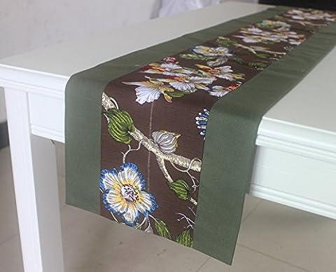 JY$ZB Im europäischen Stil Gebäck Tischdecken High-End-Luxus-Tischfahne / Couchtisch Tuch / Bett Flagge für Haus Versammlungen Restaurant Hotel , 33*200cm
