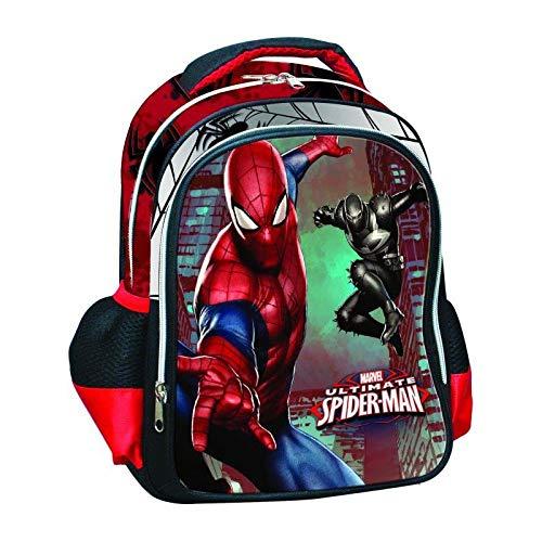 GIM los niños del hombre araña de mochila, de 31 cm, Rojo
