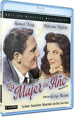 Die Frau, von der man spricht / Woman of the Year ( ) [ Spanische Import ] (Blu-Ray)