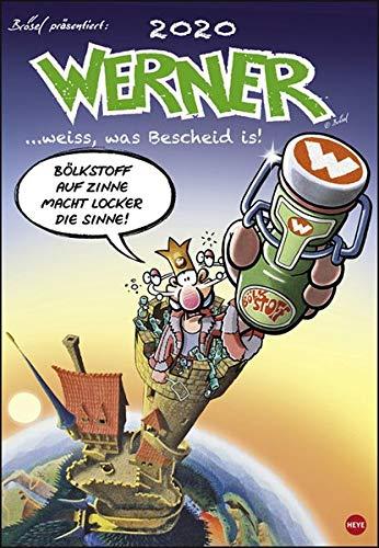 Werner Kalender 2020 37x53,5cm