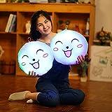 Emoji-Glühen LED Kissen-Licht-weiches Kissen-Geschenk-Ausgangsplüsch-Kinderweiche bequeme Beleuchtung