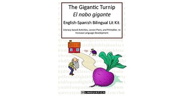 The Gigantic Turnip El nabo gigante English-Spanish