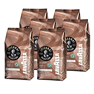 Lavazza Tierra Coffee Beans (6 x 1kg) by Lavazza