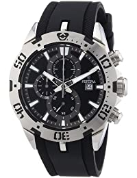 35192fa2ed22 Festina F16672 6 - Reloj cronógrafo de Cuarzo para Hombre con Correa de  Caucho