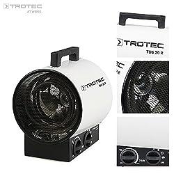 Trotec TDS 20R Elektroheizgerät, 3 W