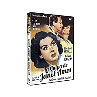 The Guilt Of Janet Ames (Region 2)