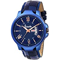 SoSh Analogue Blue Dial Men's Watch
