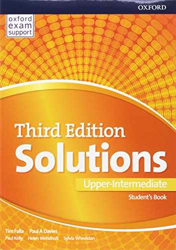 Solutions. Upper-intermediate. Student's book-Workbook. Per le Scuole superiori. Con e-book. Con 2 espansioni online