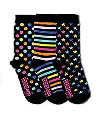 Verrückte Socken Oddsocks Twinkle für Mädchen im 3er Set