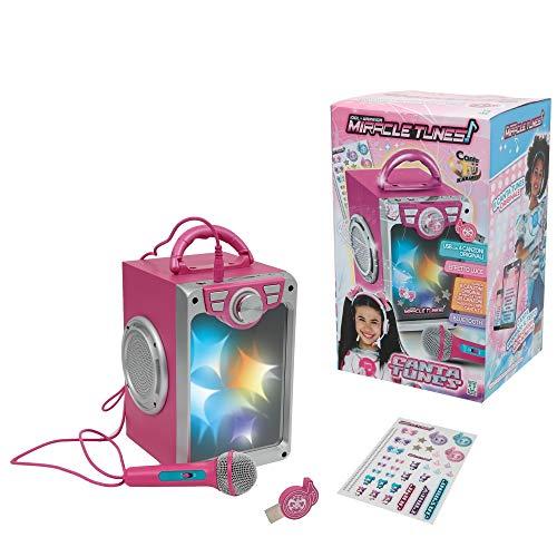 Giochi Preziosi Miracle Cantatu con Microfono, Stickers e Chiavetta USB