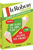 le robert guide de conversation italien
