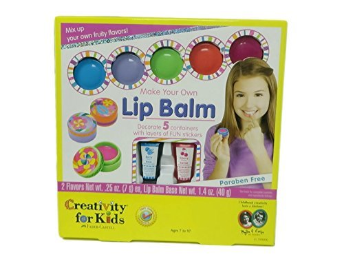Creativity for Kids Make Your Own Lip Balm - New