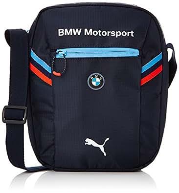 puma bmw motorsport port unisex erwachsene tasche blau. Black Bedroom Furniture Sets. Home Design Ideas