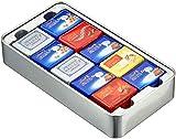 Lindt Swiss Classic Collection Box CH Kreuz, Mini Schokoladentafeln, 2er Pack (2 x 185 g)