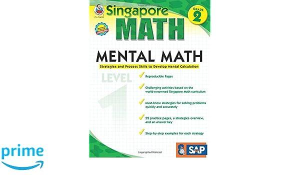 Mental Math Grade 2 Singapore Math Amazon Singapore Asian