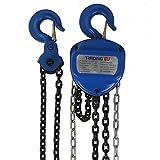 Polispasto torno de cable aparejo de cadena PROFI 10000 kg / 10 t - 5000 mm / 500 cm - forma de corazón