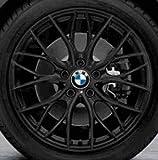 Original BMW Alufelge 4er F32-F33 M Doppelspeiche 405 Schwarz matt in 18 Zoll