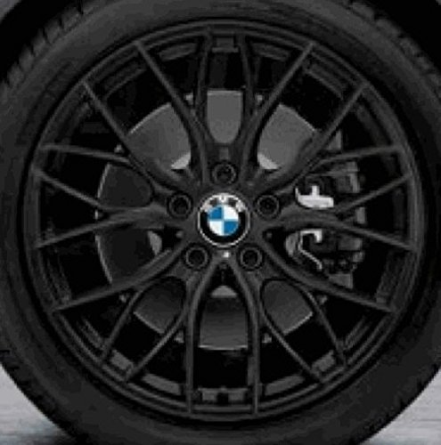 BMW 3 serie New Genuine & 4 Performance M, colore: nero opaco/405 M 45,72 cm (18') 36116865157 cerchi in lega
