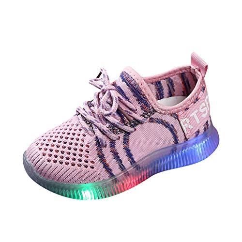Luckycat Zapatos LED Niños Niñas Zapatillas Niño Zapatillas para Bebés Zapatos de...