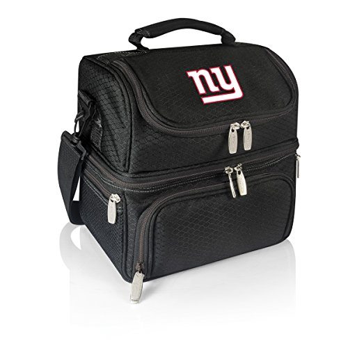 Picnic Time NFL New York Giants Pranzo Isolierte Lunch, schwarz