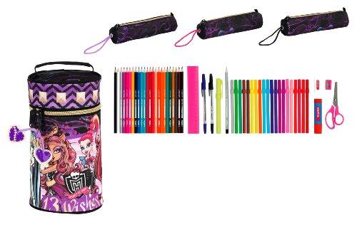 Monster High – Neceser con 3 portatodos llenos (SAFTA 411366703)