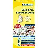 Carte DPARTEMENTS Cte d'Or, Sane-et-Loire