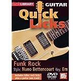 Guitar Quick Licks - Funk Rock/Nuno Bettencourt