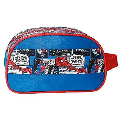 51Ff W9OgTL. SS416  - Spiderman Comic Neceser de Viaje, 24 cm, 3.36 Litros, Multicolor