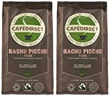 Cafédirect Machu Picchu Organic Fairtrade Ground Arabica Coffee 227g (Pack of 2)